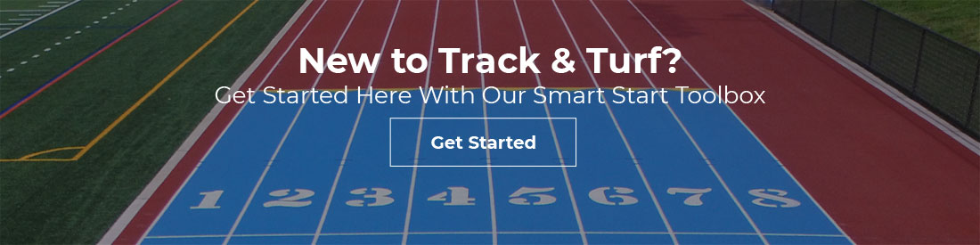 Advertisement for American Track & Turf Smart Start Toolbox