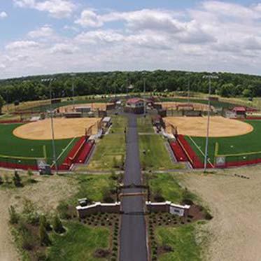 Arrowhead Park Baseball Field with Newly Installed Turf