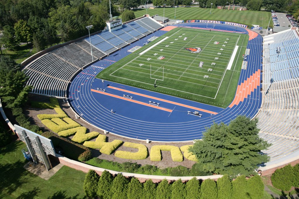 Bucknell University Track Field Completed