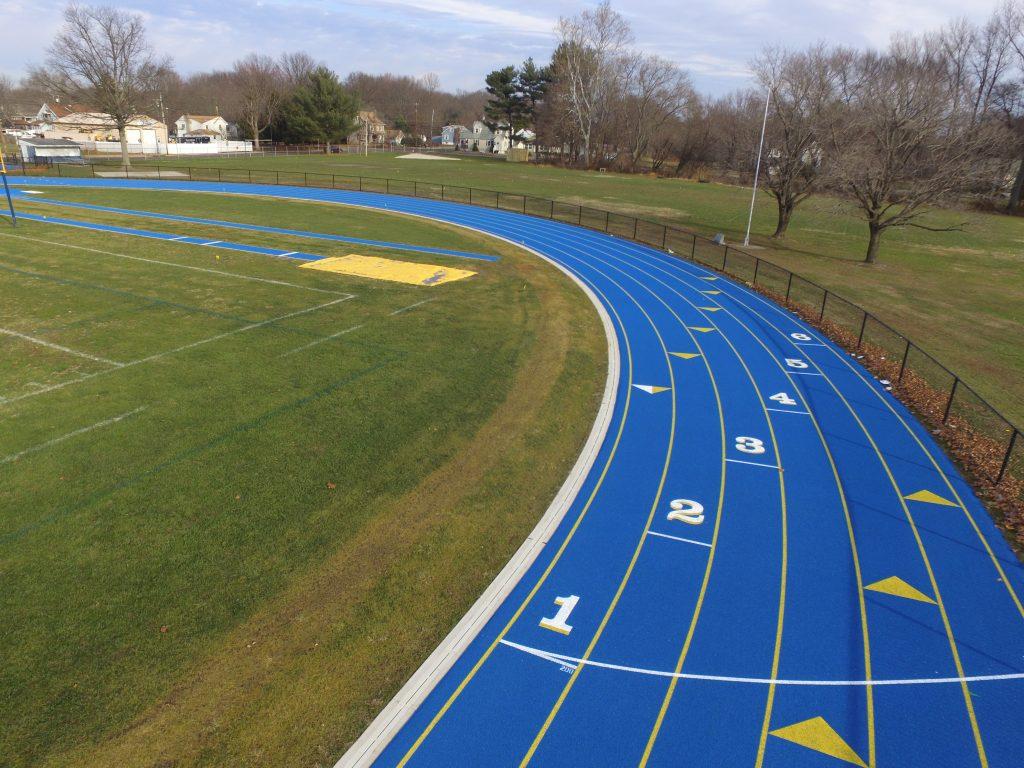 University of Delaware Track Bend