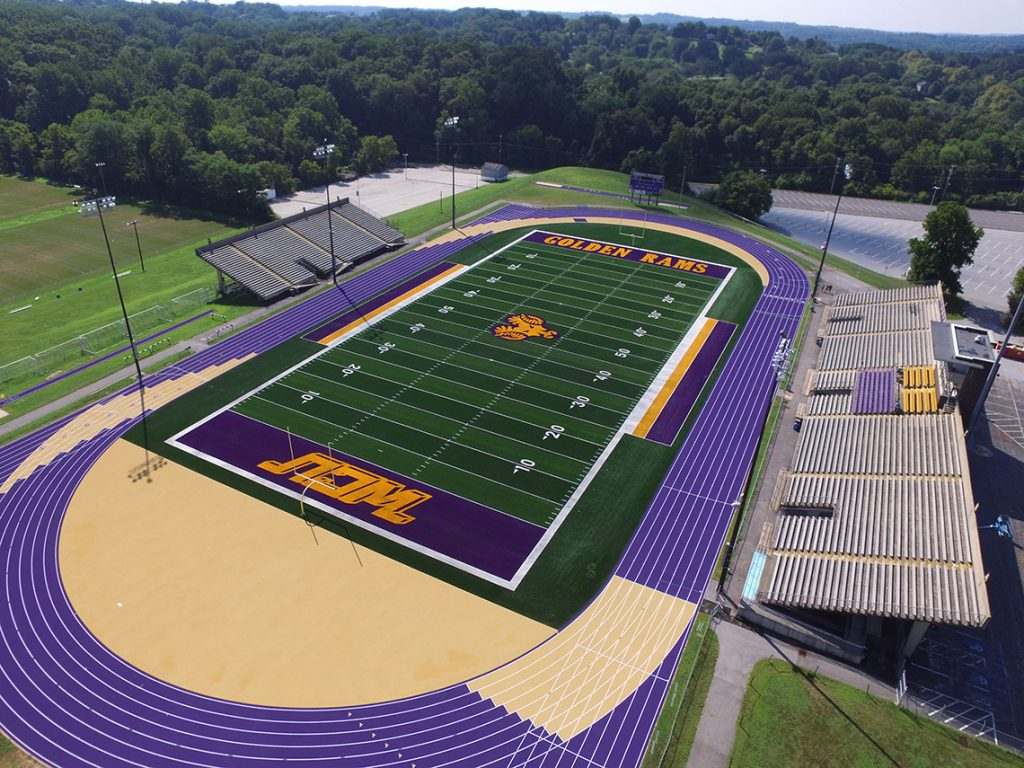 West Chester University Track