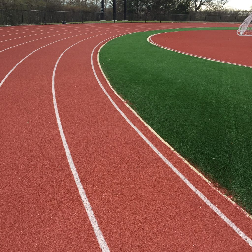 Bend on New Atlantic City Running Track