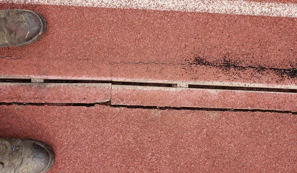 Drainage Crack 2