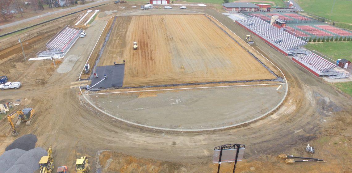 Track & field builder