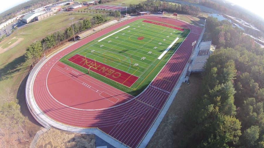 Central Regional HS Running Track