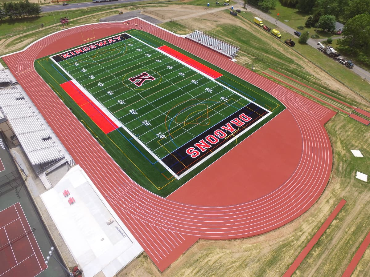 track and turf kingsway hs finished